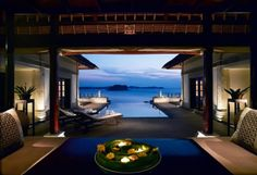 Banyan Tree Mayakoba only thing better than the private villas is the spa- best couples getaway!