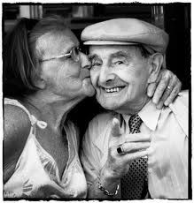 Cute old couples that are still in love. One of my favorite things:)