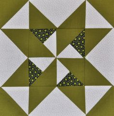Day 5: Star and Pinwheels Quilt Block