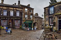 Haworth village. A typical picturesque  Yorkshire village with pubs, artisan shops and atmosphere to die for.