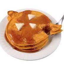 Pumpkin Pancakes Makes about 8 to 10 pancakes.