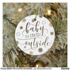 Christmas Crafts For Kids To Make, Christmas Projects, Crafts To Make, Christmas Gift From Baby, Funny Christmas Gifts, Christmas Ideas, Photo Ornaments, Wood Ornaments, Christmas Tree Ornaments