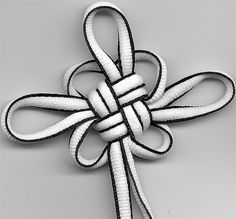 Tutorial: Chinese Knotting: Good Luck knot (Propitious Knot) tutorial