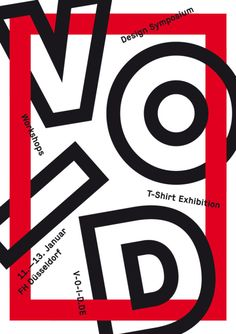 Void — Symposium Exhibition Workshops