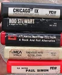 8-track tapes!