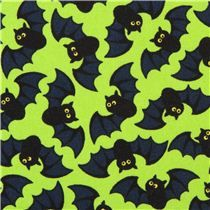 """funny green Halloween fabric with many little bats, 'bats' by Timeless Treasures, collection: """"Halloween"""", lime green cotton fabric with many little bats Halloween Fabric, Halloween Prints, Halloween Items, Halloween Bats, Vintage Halloween, Happy Halloween, Holiday Wallpaper, Halloween Wallpaper, Halloween Backgrounds"""