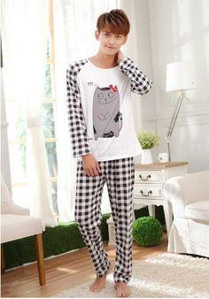 Hot women s fashion sweet womens pajamas Animal printing Indoor Clothing Home  Suit Sleepwear Winter Long sleeve Trousers Pajamas 1c774ac43