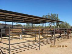 AZ Horse Barn Builder - Custom Equine Facilities / Curt Boyd Barns and Fencing Barn Stalls, Horse Stalls, Horse Tack, Horse Farm Layout, Barn Layout, Show Cattle Barn, Horse Pens, Horse Shelter, Horse Barn Plans