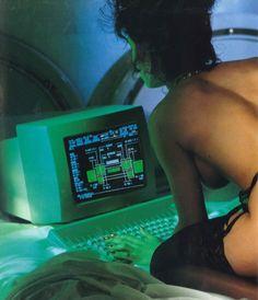 SHADO astronaut after being awakened during cryosleep responding to an emergency alert.