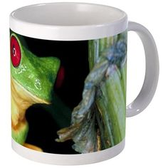 Tree Frog Mug on CafePress.com