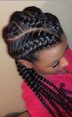 33 Stunning Goddess Braids - Summer Braids - Hair, Nails, & Make-Up - Auburn Hair With Highlights, Honey Blonde Highlights, Honey Blonde Hair, Blonde Brunette, Blonde Box Braids, Short Box Braids, Dookie Braids, 2 Braids, Twist Braids