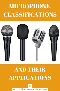 Learn about the classifications and uses of microphones for audio recording. This will enable you to use the right microphone for the right job. It will also help you to position the microphone properly for recording. Home Recording Studio Setup, Home Studio Music, Dj Music, Good Music, Hard Rock Songs, Radio Song, Vocal Lessons, Design Studio Office, Soul Songs