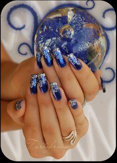 nail art cosmic by Tartofraises.deviantart.com on @deviantART