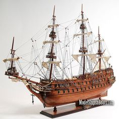 De Zeven Provincien Frigate 1665 Model Ship