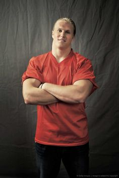 Clay Matthews... I have a brand new interest in the Packers now :) :)