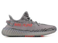 reputable site e821b 5bc40 Adidas Yeezy Boost 350 V2 Chaussures de Basket Prix Pas Cher Pour Homme  Gris ah2203 -