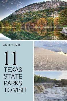 11 Texas State Parks to Check Out - A Girl From TX Find the most beautiful Texas State Parks near Dallas and Austin. From desert sands to gorgeous waterfalls to some incredible underground caverns! Hiking In Texas, Texas Roadtrip, Texas Travel, Travel Usa, Camping Texas, Camping List, Texas Parks, Tx State Parks, Texas National Parks