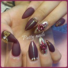 #nailsforever#nail#nailitdaily#nailswag#nailsfashion#cutenails#prettynails#nailglam#instanails#nailtech#nailit#nailart#swarovski#sparkle#nailpolish#nailsby#nailcare#naildesign#nailsalon#nailsforyou#uñas#mattenails#gold#acrylicnails#nailpro#pointinails#nailpro
