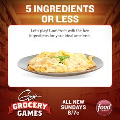 Before Guy's #GroceryGames returns this Sunday at 8|7c, play from home!