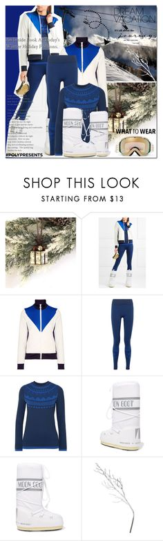 """#PolyPresents: Dream Vacation ❄️🎿"" by elena-777s ❤ liked on Polyvore featuring Tory Sport, Moon Boot, A by Amara, Fendi, Canterbury, contestentry, 2017, polyPresents, winter2017 and fallwinter2017"