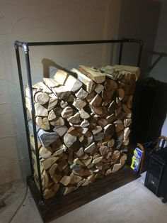 Custom Firewood Rack