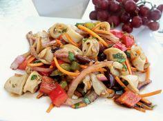 Calamari Salad. Photo by *Parsley*