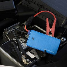 The Juno Jumpr is a sleek, lightweight external battery that houses an impressive 6,000 mAh battery pack capable of jumping a completely dead car battery in minutes @TouchOfModern