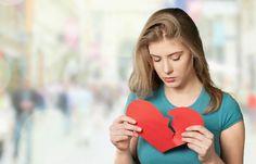 Menina com desilusão amorosa