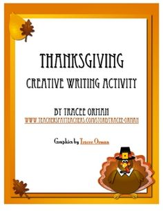 Free download: Thanksgiving Creative Writing Activity
