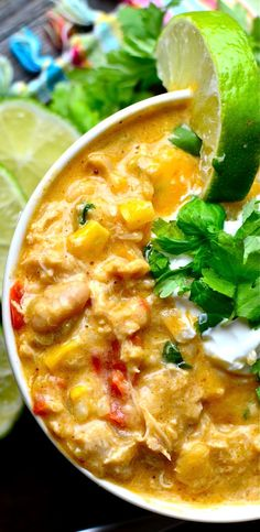 Yammie's Noshery: Creamy Cheesy White Chicken Chili