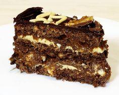 Fenomenalna torta sa još lepšim komentarom : &qout;Kao da jedem snikers čokoladu ali kašičicom&qout;. Komentar koji me je oduševio, a torta se pošto je pravljena za rodjendan pojela za pola sata, cela, štp bi se reklo &qout; liznula sam je&qout;. Pravim je opet sigurno, ali za svoj gušt! Sastojci za kore – p…