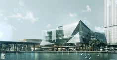 Darling Harbour Convention Center, HASSELL Architects  / visual dougandwolf