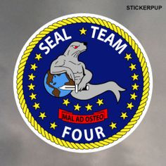 Seal Team 4 Stickers StickerPup.Com