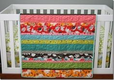 Strip Quilt Tutorial by Nannagirl