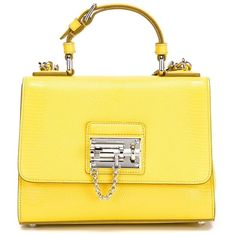 Dolce & Gabbana small 'Monica' tote (6.155 BRL) ❤ liked on Polyvore featuring bags, handbags, tote bags, borse, yellow handbag, dolce gabbana handbag, top handle handbags, dolce&gabbana and yellow tote