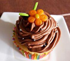 cupcake dark chocolat.