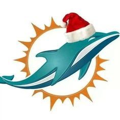15 best Miami Dolphins Christmas images on Pinterest | Dolphins ...