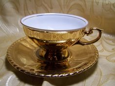 vintage gold teacup   .....................................Please save this pin.   ............................................................. Click on this link!.. http://www.ebay.com/usr/prestige_online