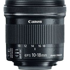 Lente Canon EF-S 10-18mm f/4.5-5.6 IS STM -  Lente Canon EF-S 10-18mm f/4.5-5.6 IS STM com preços muito especiais. Venha adquirir a sua Lente Canon EF-S 10-18mm f/4.5-5.6 IS STM no site eMania.
