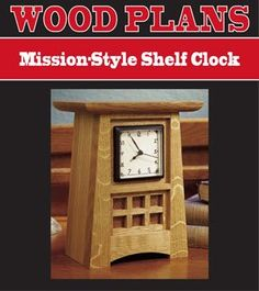1000 Images About Mission Style Clocks On Pinterest