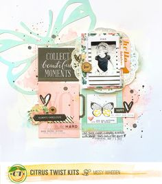 Collect Beautiful Moments *Citrus Twist Kits* - Scrapbook.com