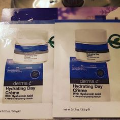 Trying out the drama e hydrating day cream...pretty good so far 😊 #trynatural #dermae