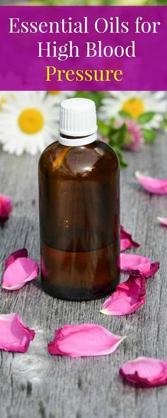 essential oil for high blood pressure