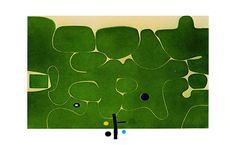 Victor Pasmore, Il Labirinto della Psiche, 1986