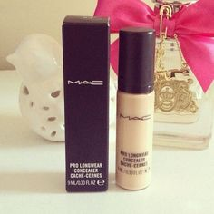 My favorite item of makeup! MAC Pro longwear concealer!