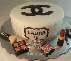 Makeup Cake, Make up, Pastel cosméticos, Chanel
