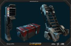 Props 1 – Transformers: Fall of Cybertron