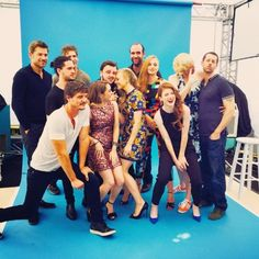 The Game of Thrones Cast being awesome