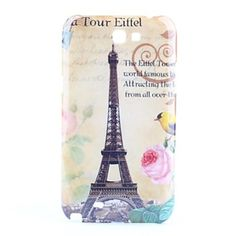 Cover Samsung Note 2 Toure Eiffel