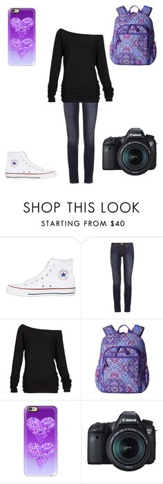 """Untitled #345"" by a-hidden-secret ❤ liked on Polyvore featuring Converse, Tory Burch, Alloy Apparel, Vera Bradley, Casetify and Eos"